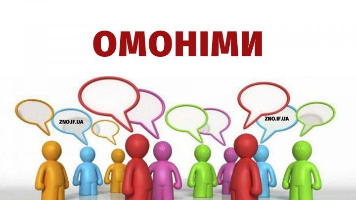 Омоніми
