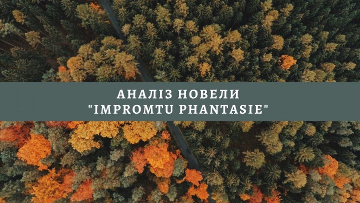 """Аналіз новели """"Іmpromtu phantasie"""""""